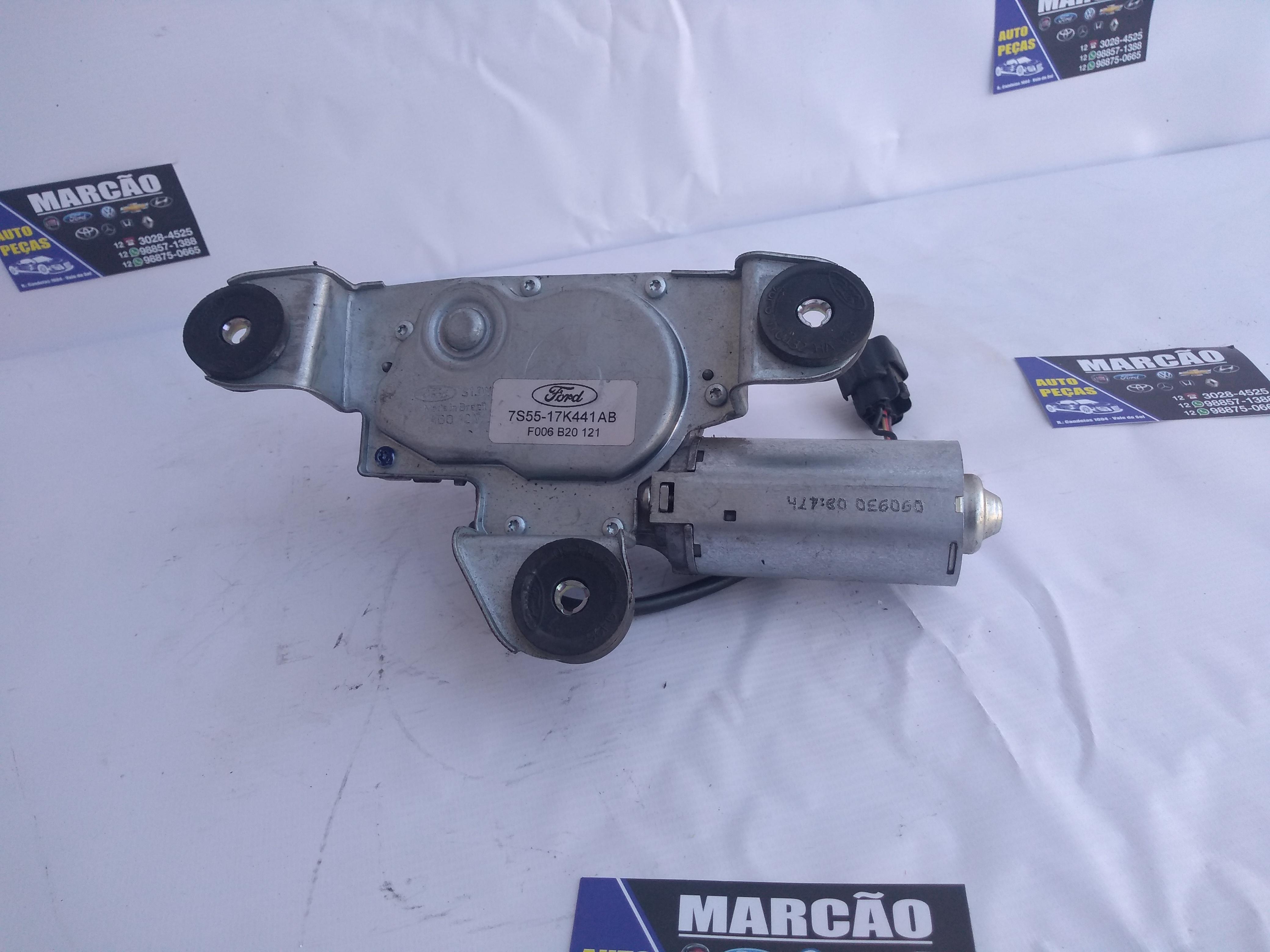 Motor Limpador Vidro Traseiro Fiesta Hatch 2019