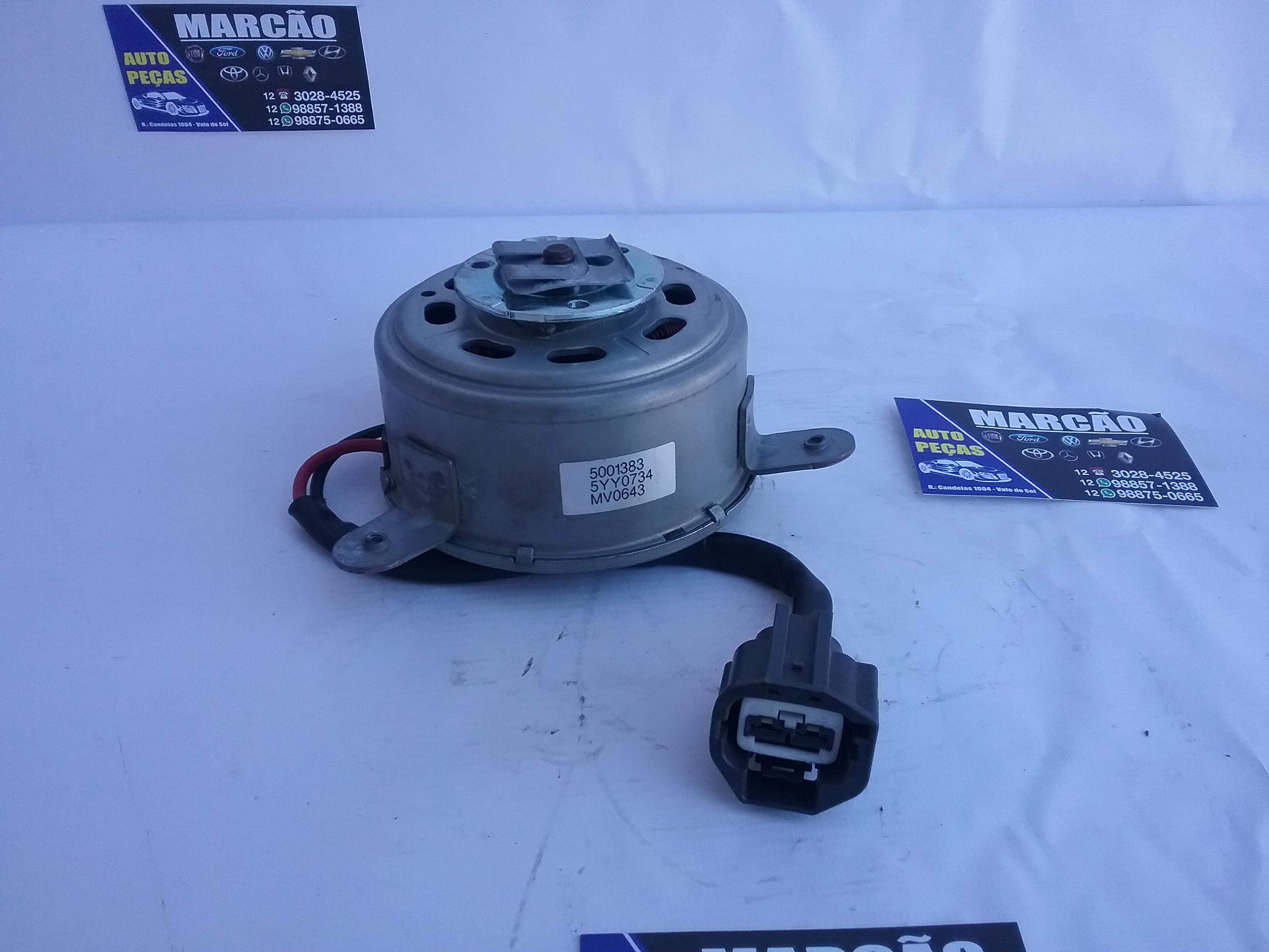 Motor eletroventilador Spin Cobalt Ônix Prisma