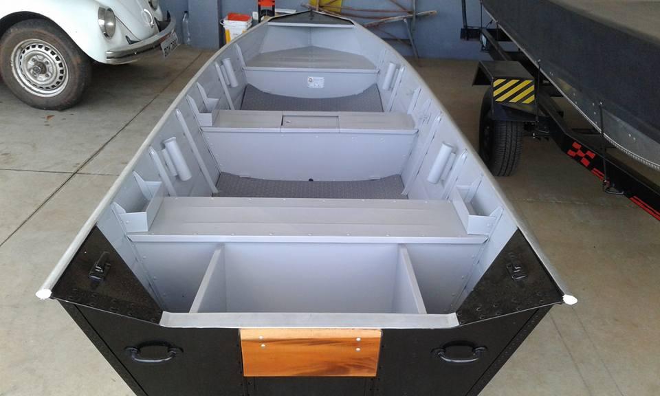 Barco de aluminio 4.20 mts