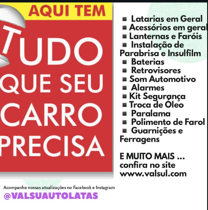 TROCA DE PARABRISA BATERIA ACESSORIOS LATARIAS EM GERAL FERRAGENS INSULFILM SOM E ALARMES KITS DE SEGURANÇA TROCA DE OLEO