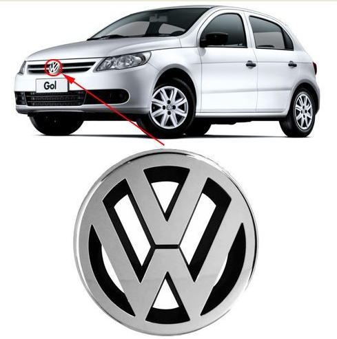 Emblema VW Gol Voyage Saveiro G5
