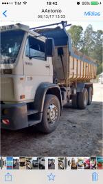 VOLKSWAGEN 23-220 6x2 3-Eixos 2p (diesel) 2005/2005 Manual Diesel