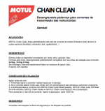 Limpador de Corrente C1 Motul Spray 400 ml Chain Clean