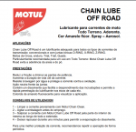 Lubrificante corrente C3 Motul 400ml Chain Lube Off Road