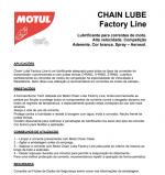 Lubrificante corrente C4 Motul 400ml Chain Lube Factory Line
