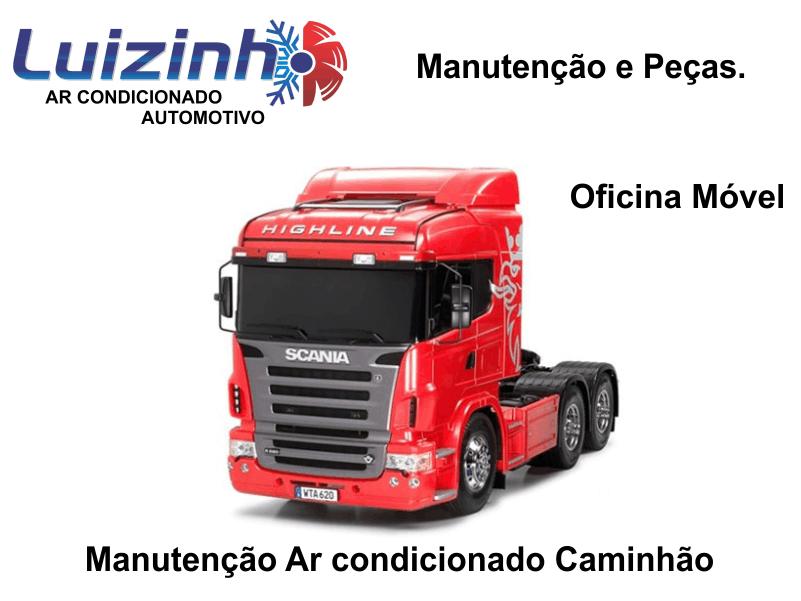 Manutenção de Ar condicionado de caminhão