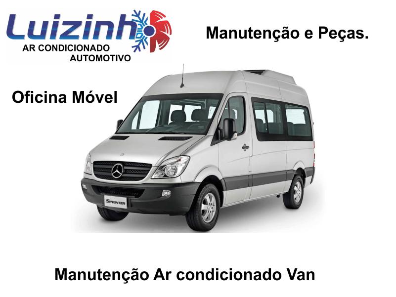 Manutenção de Ar condicionado de van