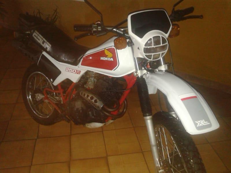 HONDA XL250R 1983/1983 Branca