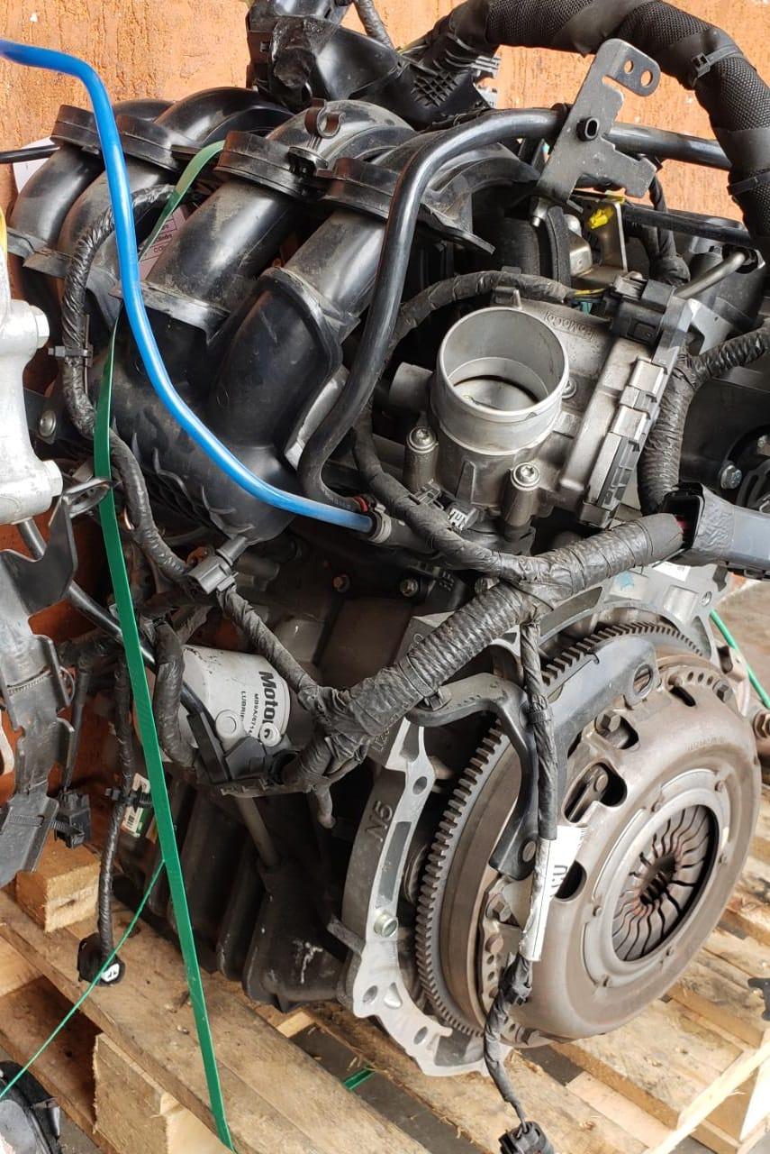 Motor Sigma 1.5 16v flex  Ford New Fiesta