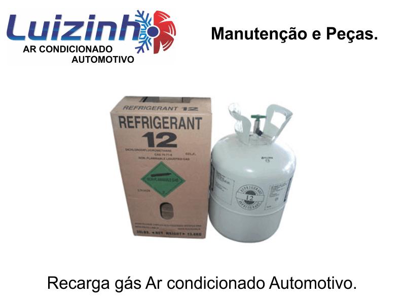 Recarga de gás ar condicionado automotivo