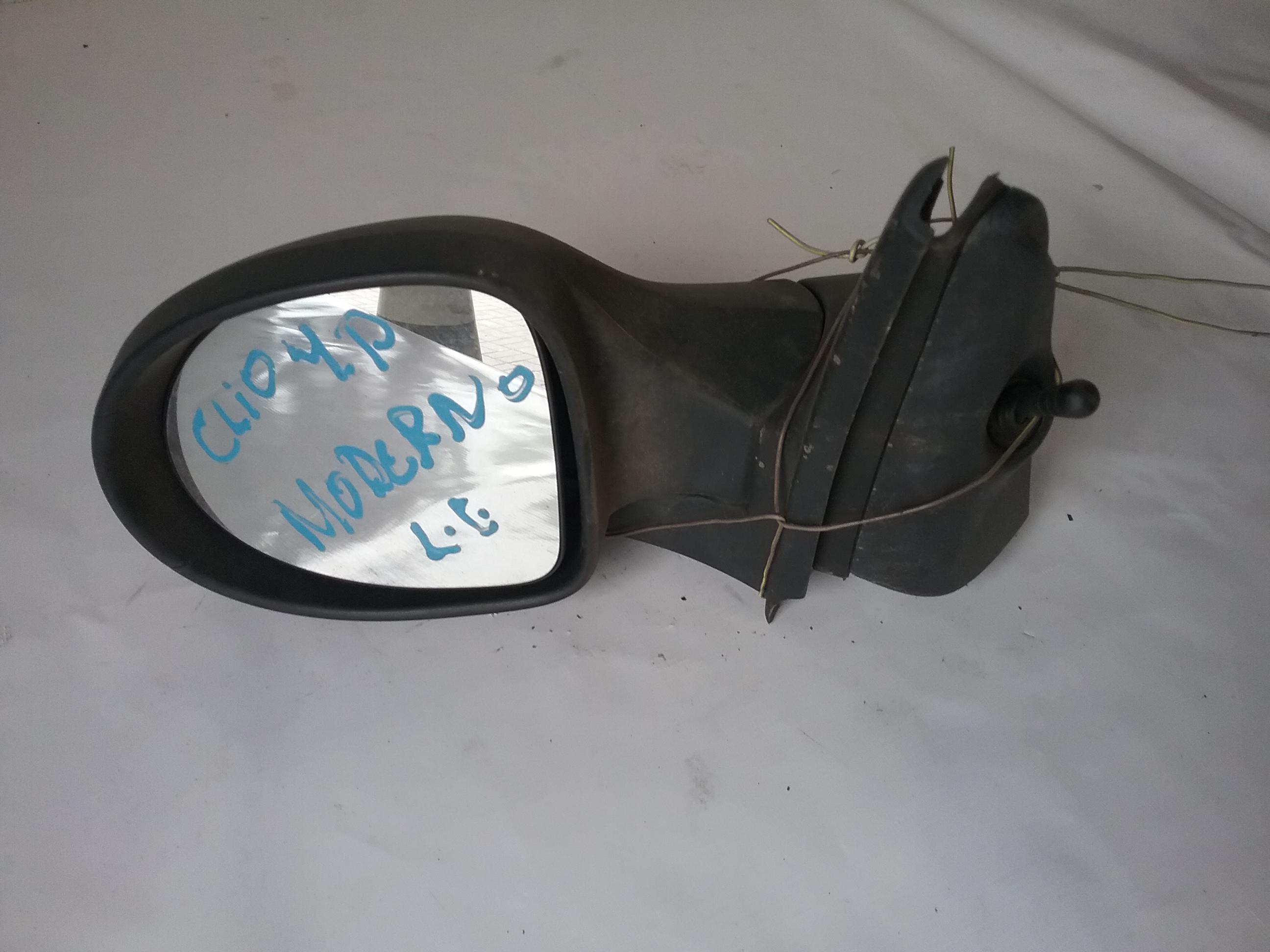 Retrovisor esquerdo manual Clio moderno 4p
